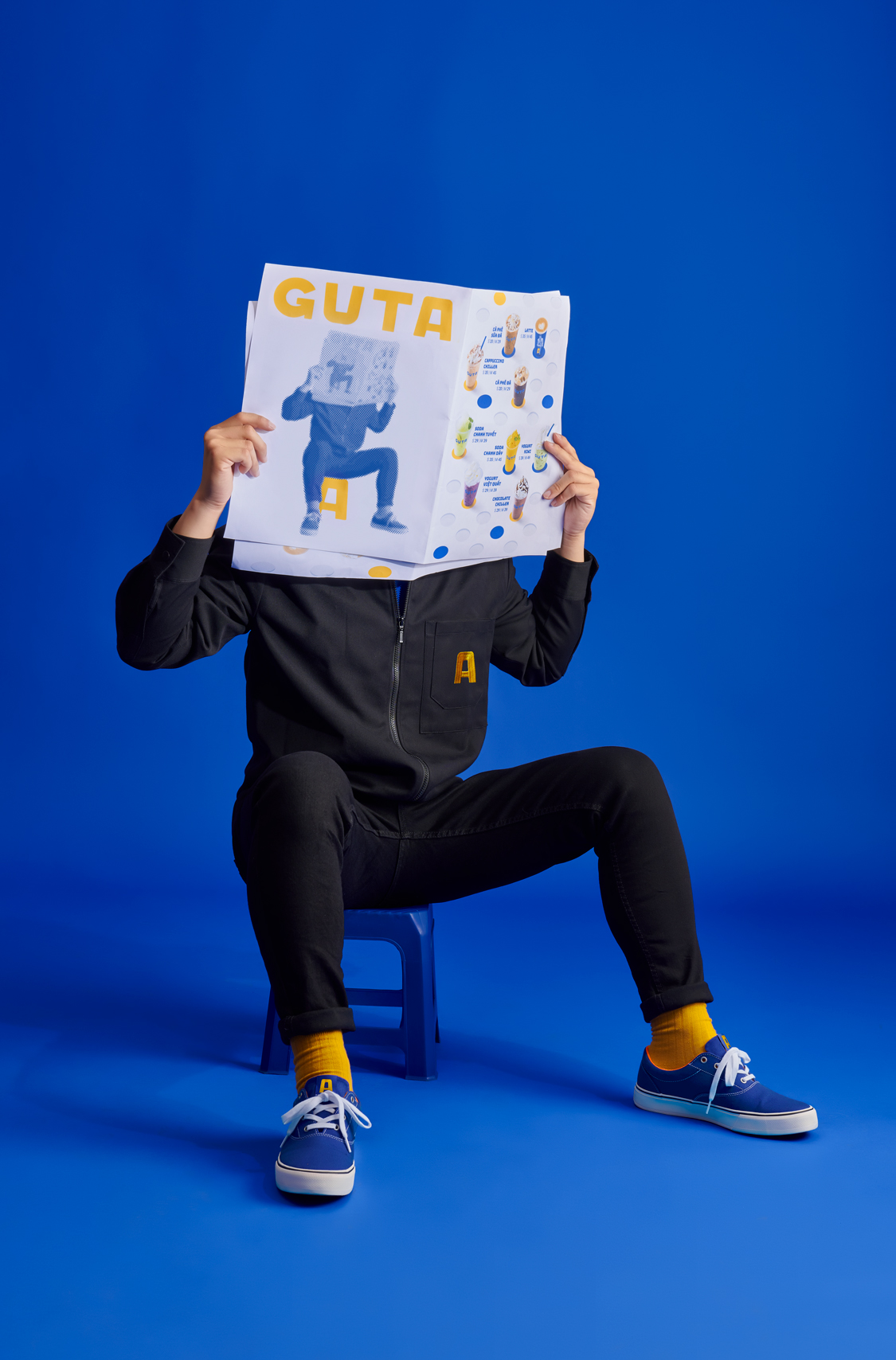 Guta Cafe Rebranding by M — N Associates